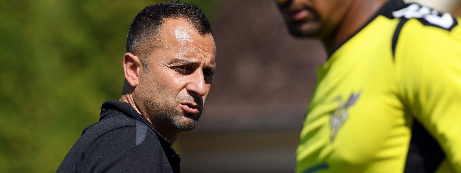 Paulo Amodio ist nicht länger Trainer bei Progrès Niederkorn.