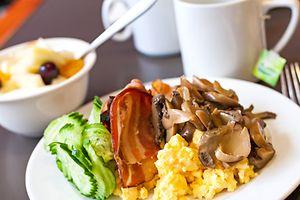 Grain-free breakfast in Brussels