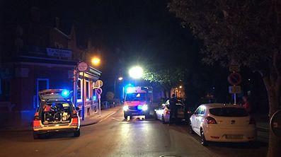 Beim Unfall in der Rue Auguste Collard wurde der Unfallfahrer verletzt.