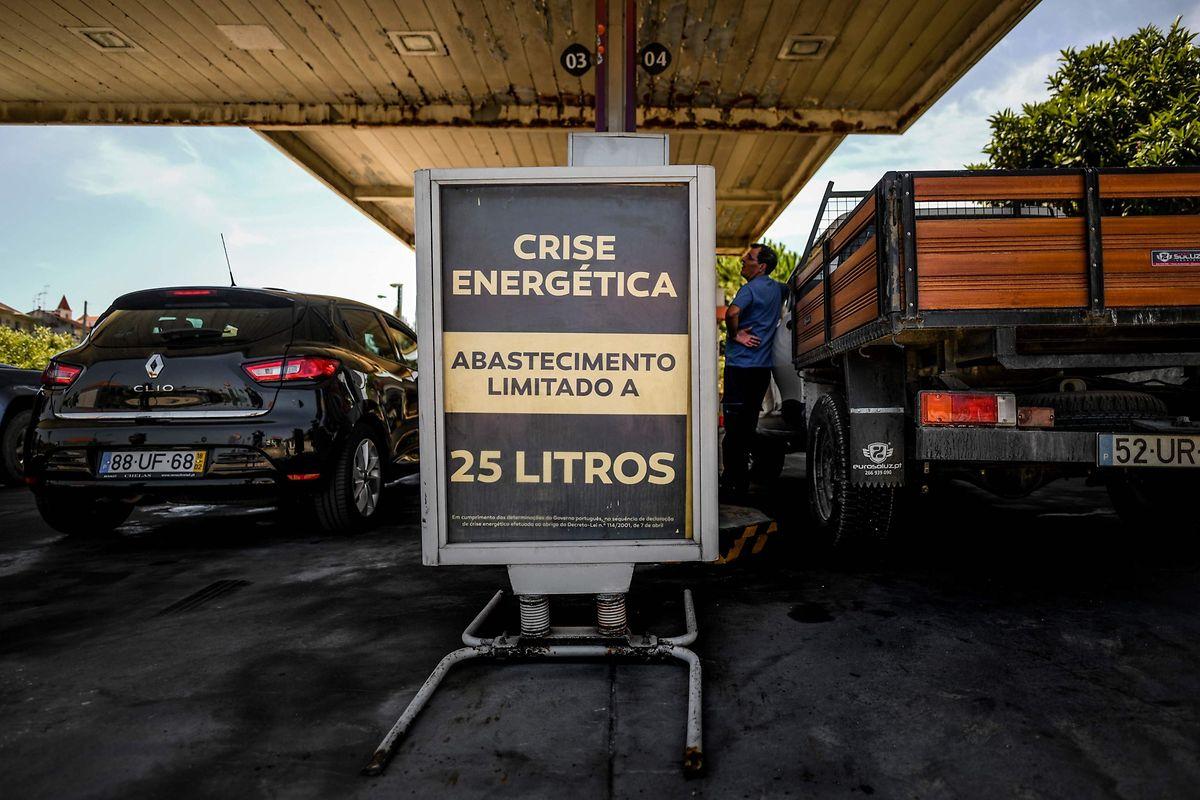 Afin de limiter l'impact de cette grève, le gouvernement portugais a limité la quantité de carburant autorisé dans les stations-service.