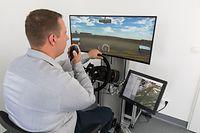 Wissen, Einwwihung des Fahrsimulators ''airside'' von der ''Administration de la navigation aérienne'', Foto: Lex Kleren/Luxemburger Wort