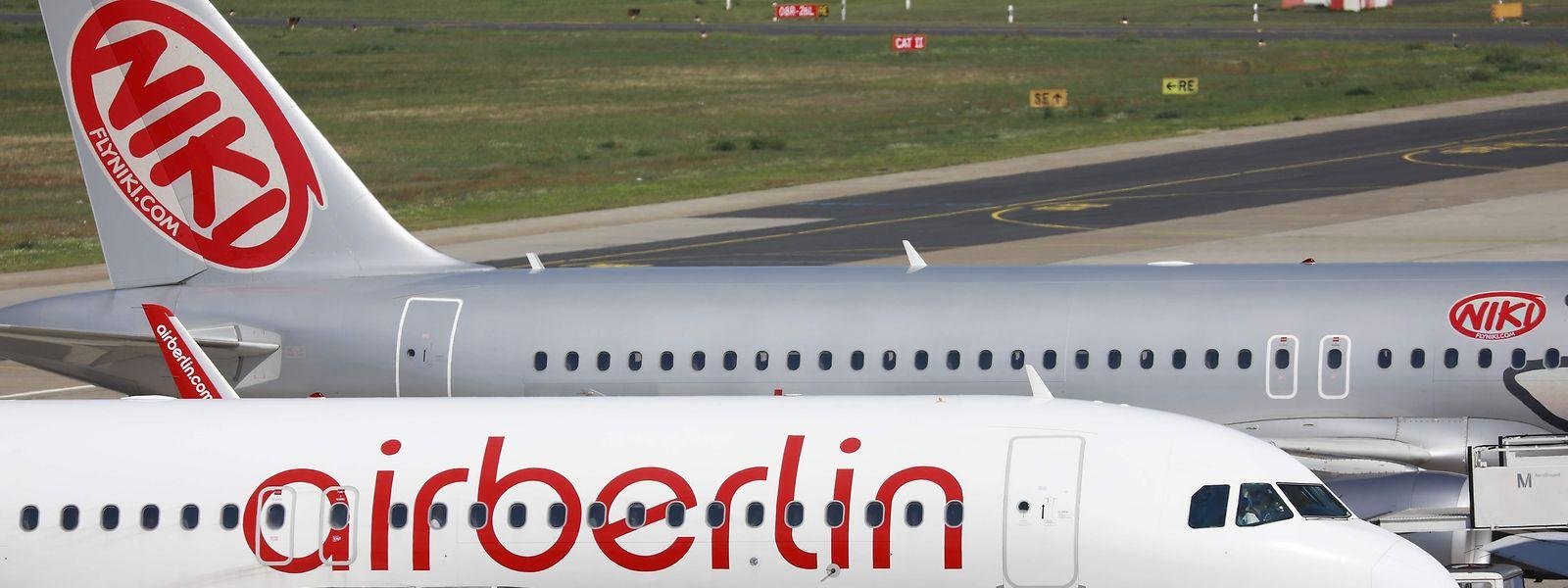 Aus für Air Berlin. Lufthansa und Easyjet gelten als potenzielle Käufer der Fluggesellschaft.