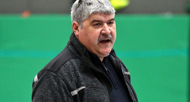 Filipe Centeio, entraîneur de AS Rupensia Lusitanos Larochette / Foto: Stéphane Guillaume