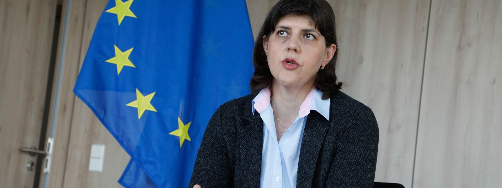 Die Rumänin Laura Codruta Kövesi wurde 2019 an die Spitze der Europäischen Staatsanwaltschaft berufen. Seither arbeitet sie am Aufbau der Behörde am Kirchberg.