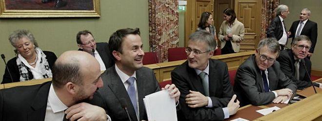 Anderthalb Stunden dauerte die Erklärung von Premierminister Xavier Bettel zum Regierungsabkommen.