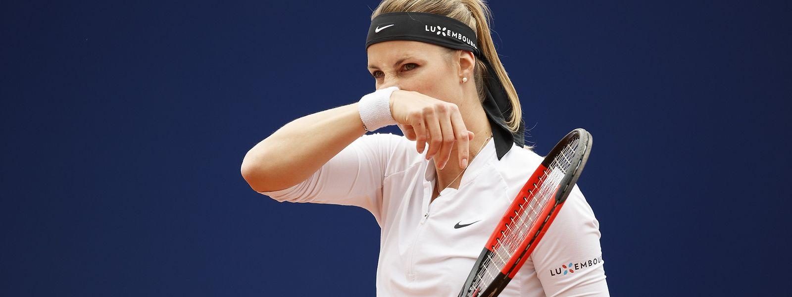 Mandy Minella kam gegen Anna Karolina Schmiedlova nicht ins Spiel.