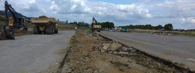 L'aire autoroutière de Thionville-Porte de France sera en travaux jusqu'au mois de janvier.
