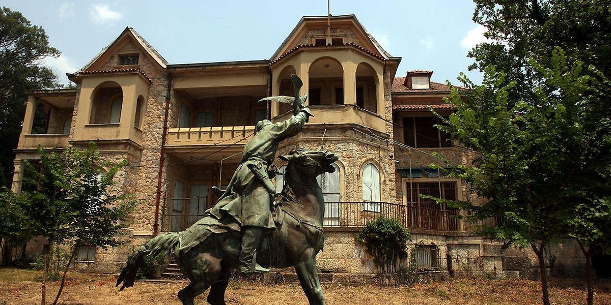 Palast in Tatoi: 1974 entschieden sich die Griechen für die Abschaffung der Monarchie.