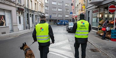 Private security agents have been operating in the Gare district of Luxembourg City since December last year