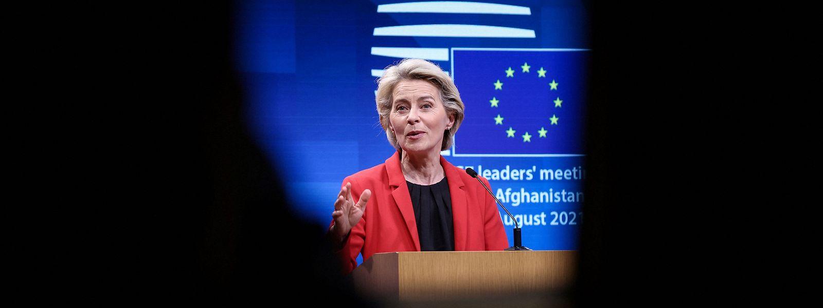 Kommissionschefin von der Leyen wird nächste Woche ihre Rede zur Lage der EU halten.