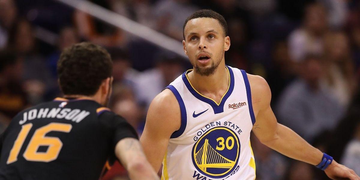 Stephen Curry a été décisif lors de la victoire de Golden State sur Miami.