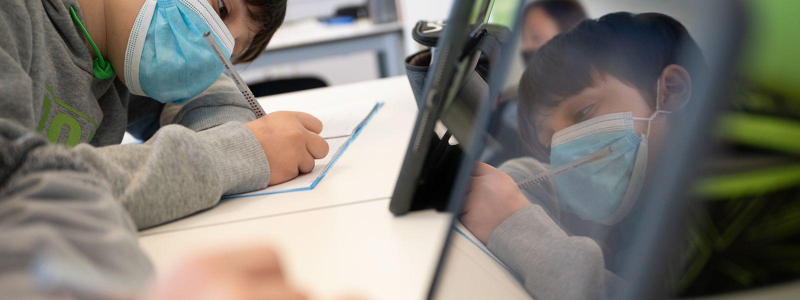 Auch die Schüler müssen sich in Zeiten von Corona an einige Neuerungen gewöhnen.