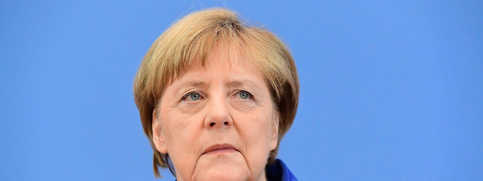 Die deutsche Kanzlerin Angela Merkel sprach von einem Terroranschlag.