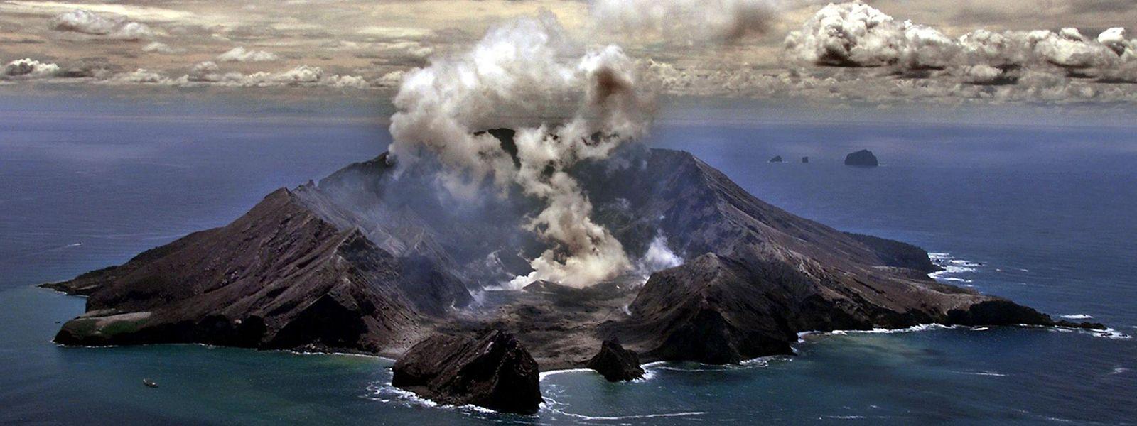 Der Krater von White Island auf einem Archivfoto - er ist Neuseelands aktivster Vulkan.