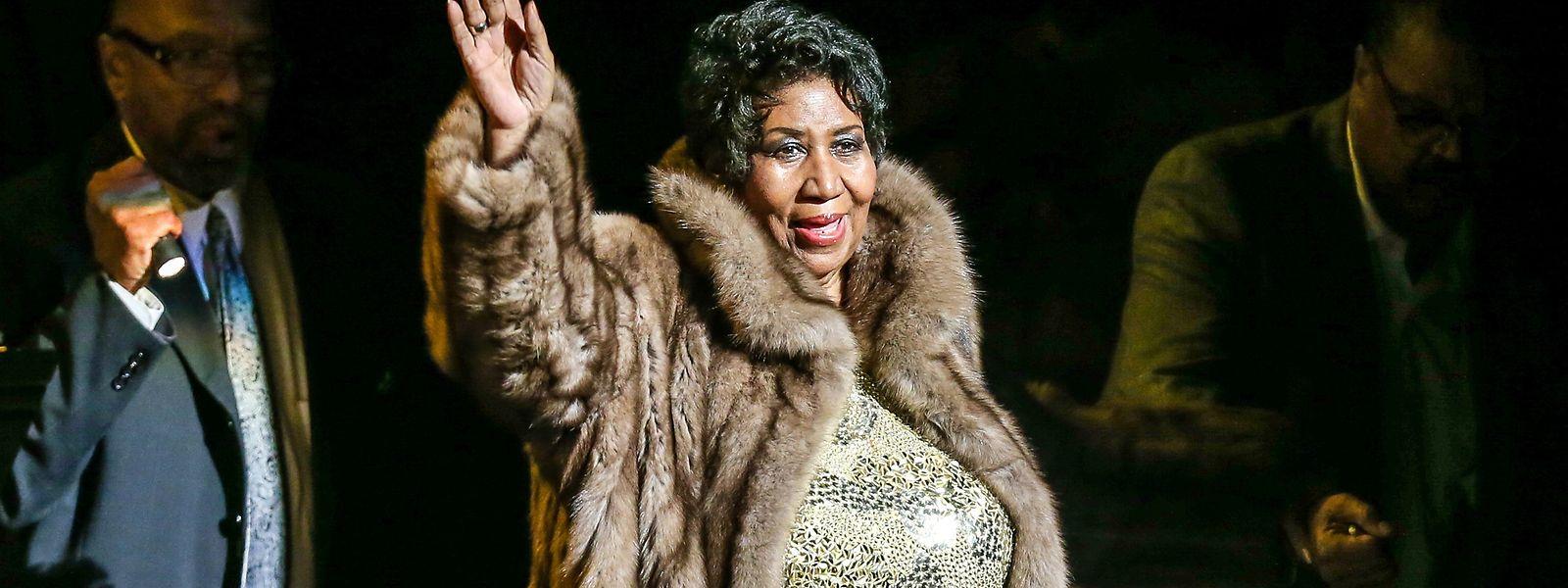 Aretha Franklin wurde posthum ausgezeichnet.