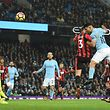 Du pied ou de la tête, Sergio Agüero a fait cauchemarder Bournemouth samedi.