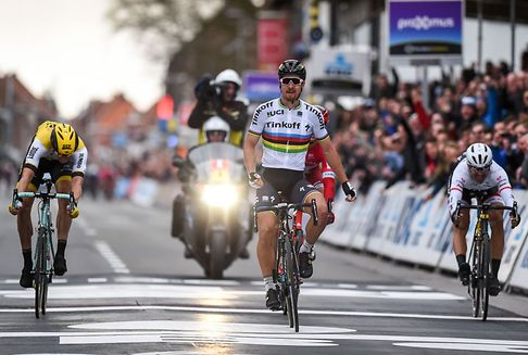 Radrennen Gent-Wevelgem: Sagans Sieg von schwerem Unfall überschattet
