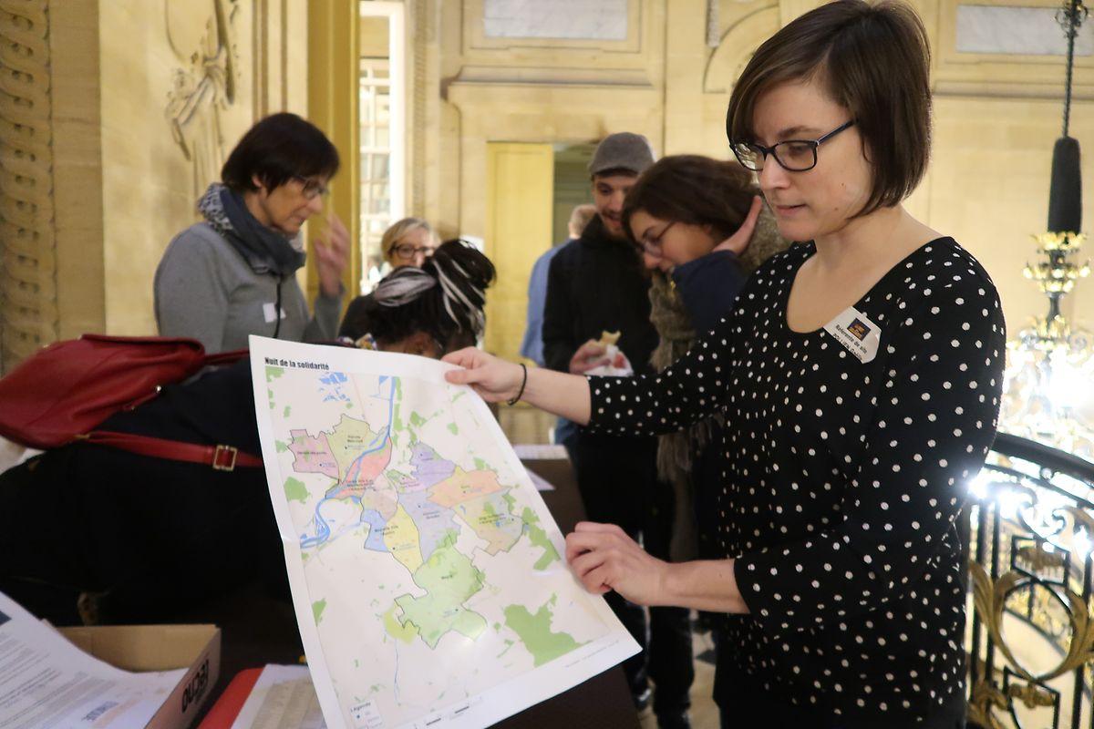 Gaëlle Pollien, adjointe au Centre communal d'action sociale (CCAS) de Metz: «La ville a été découpée en 66 zones.»