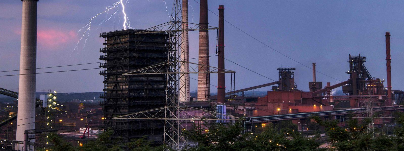 La production industrielle hors bâtiment a chuté de 3,6% en Allemagne l'an dernier.