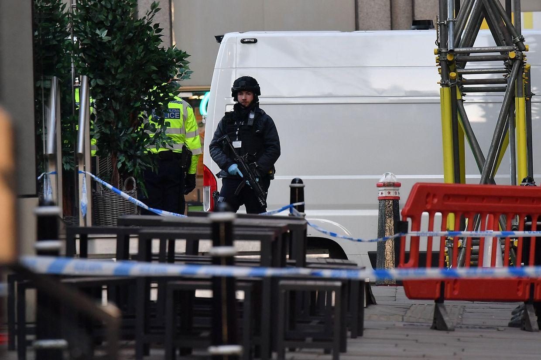 Ausnahmezustand in London nach einer Messerattacke auf der London Bridge.