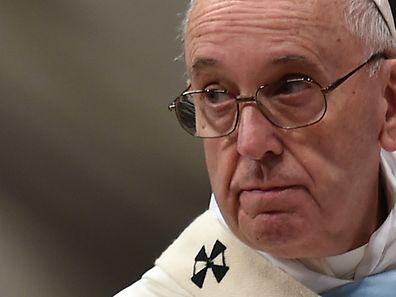 Der Papst twitterte die Botschaft am Dienstag.