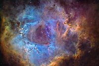 Blick in den Weltraum: Manuel Huss fotografiert Bilder wie diesen Roesette-Nebel.