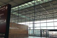 Gähnende Leere in der Haupthalle des Terminals. Seit sieben Jahren soll der Flughafen Berlin-Brandenburg bereits in Betrieb sein.