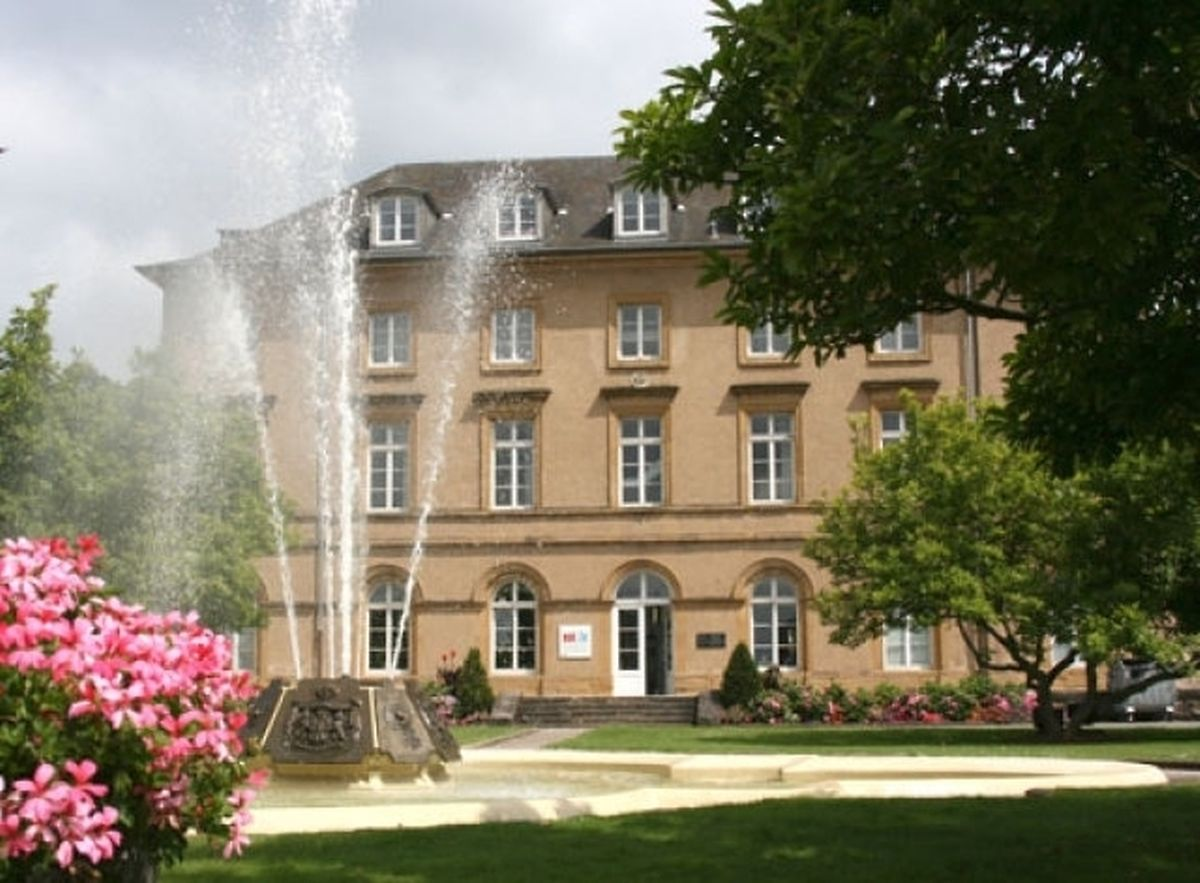Walferdange Castle, home to Prince Henri and his wife in the 19th century