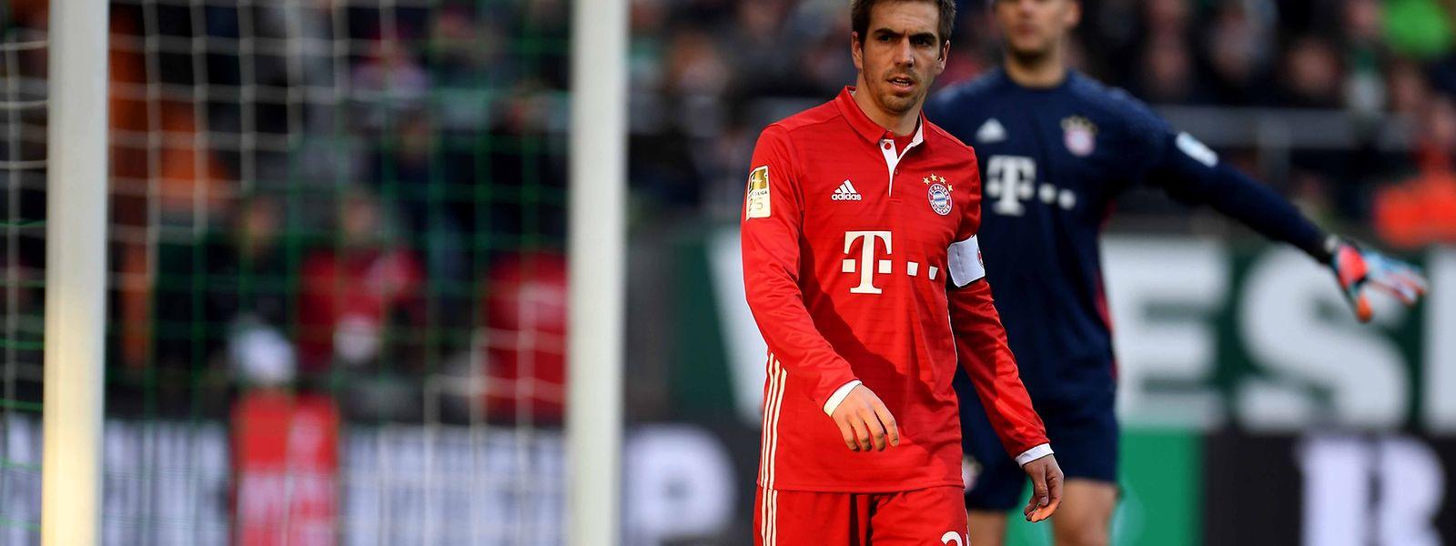 Philipp Lahm ist erst 33 Jahre alt.