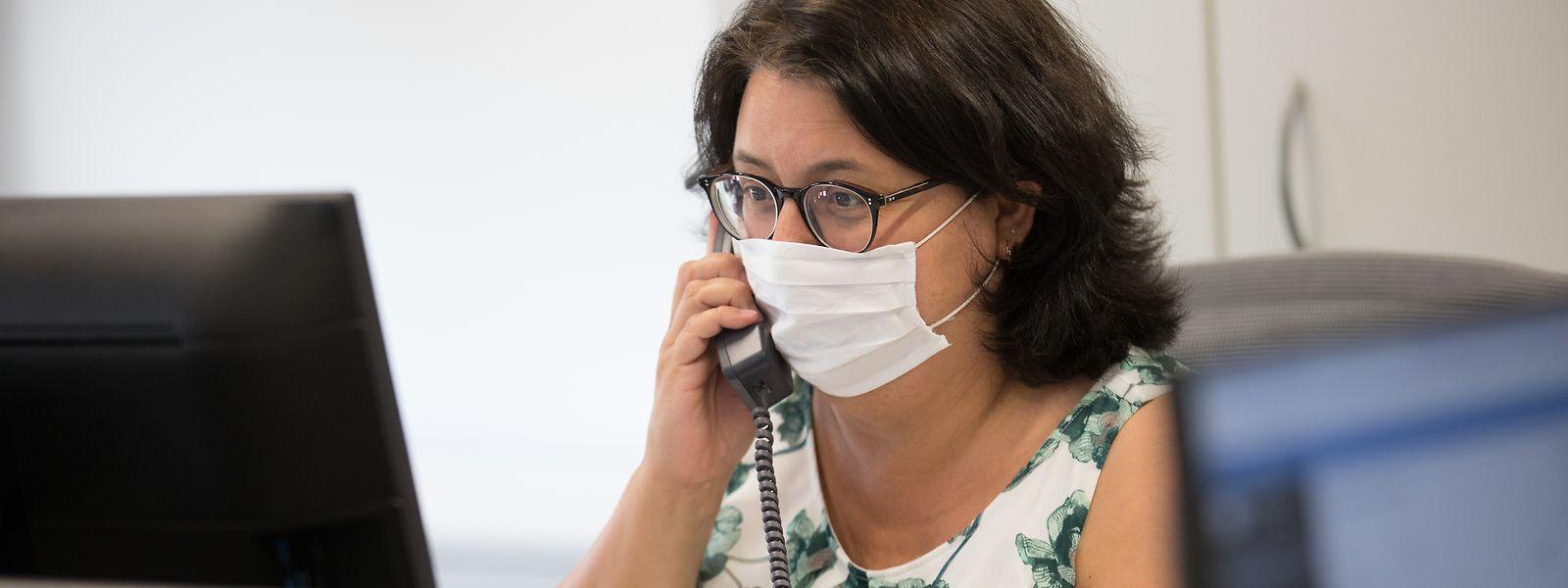 Réparties en plusieurs shifts, les équipes de contact tracing de l'Inspection sanitaire travaillent chaque jour de 8 heures à 23 heures.