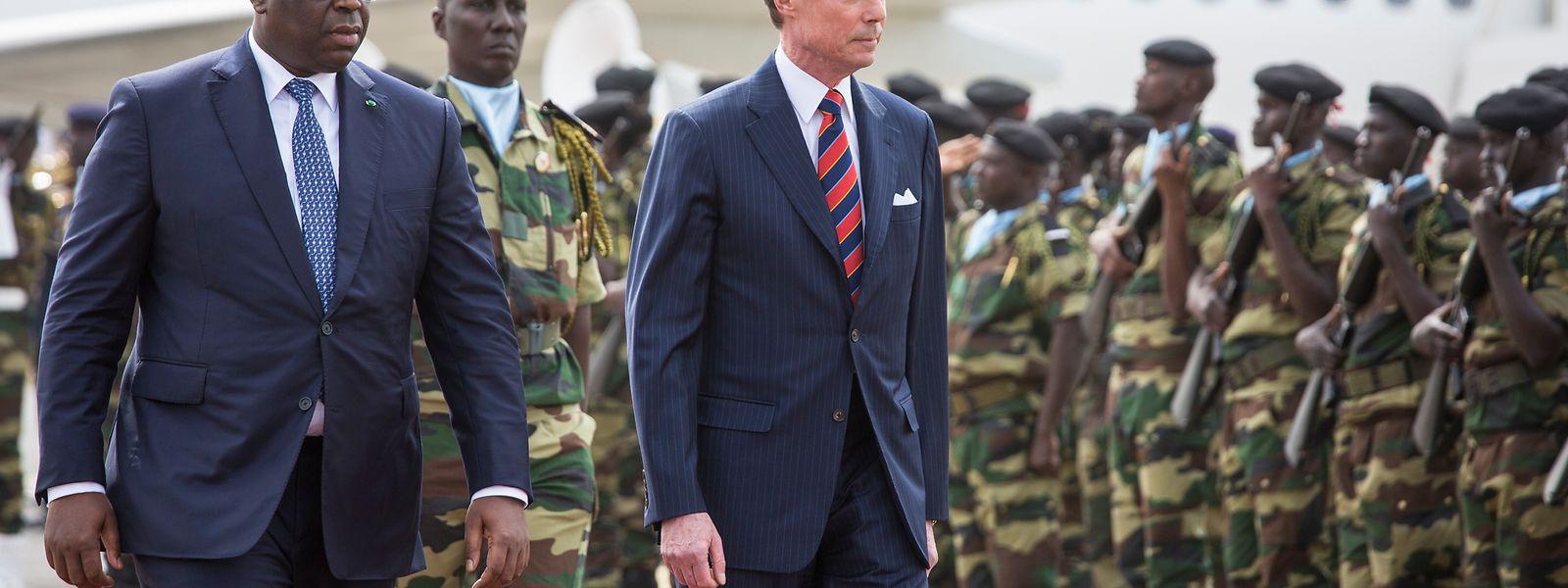 Visita de Estado do Luxemburgo ao Senegal