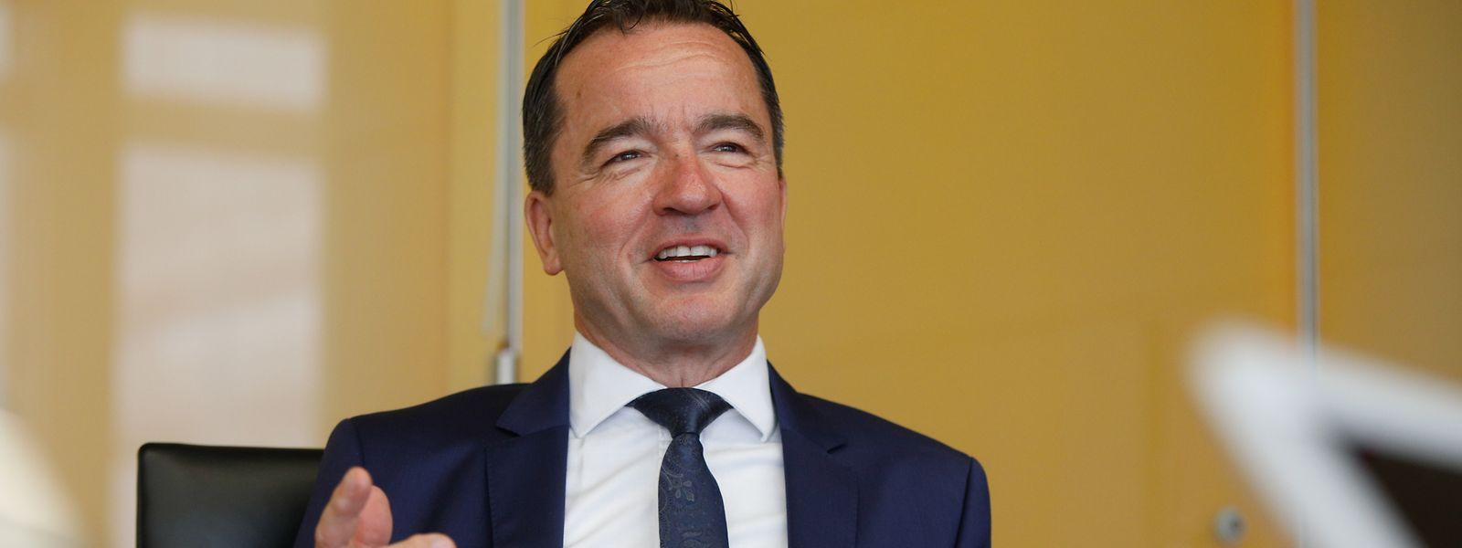 """Falk Fischer: """"Die Julius Baer Gruppe hat in Luxemburg sehr stark investiert, sowohl in Technologie als auch in Mitarbeitende."""""""