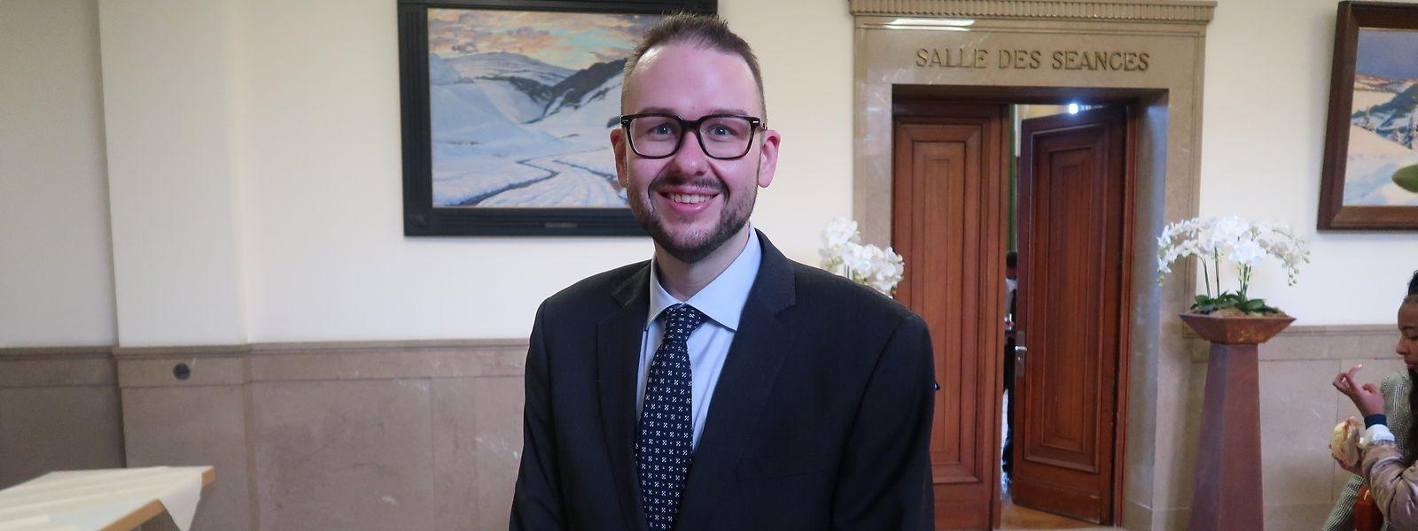 Christian Weis (CSV) wurde am Freitag einstimmig vom Escher Gemeinderat zum neuen Schöffen gewählt. Noch muss er von Innenministerin Taina Bofferding (LSAP) vereidigt werden.
