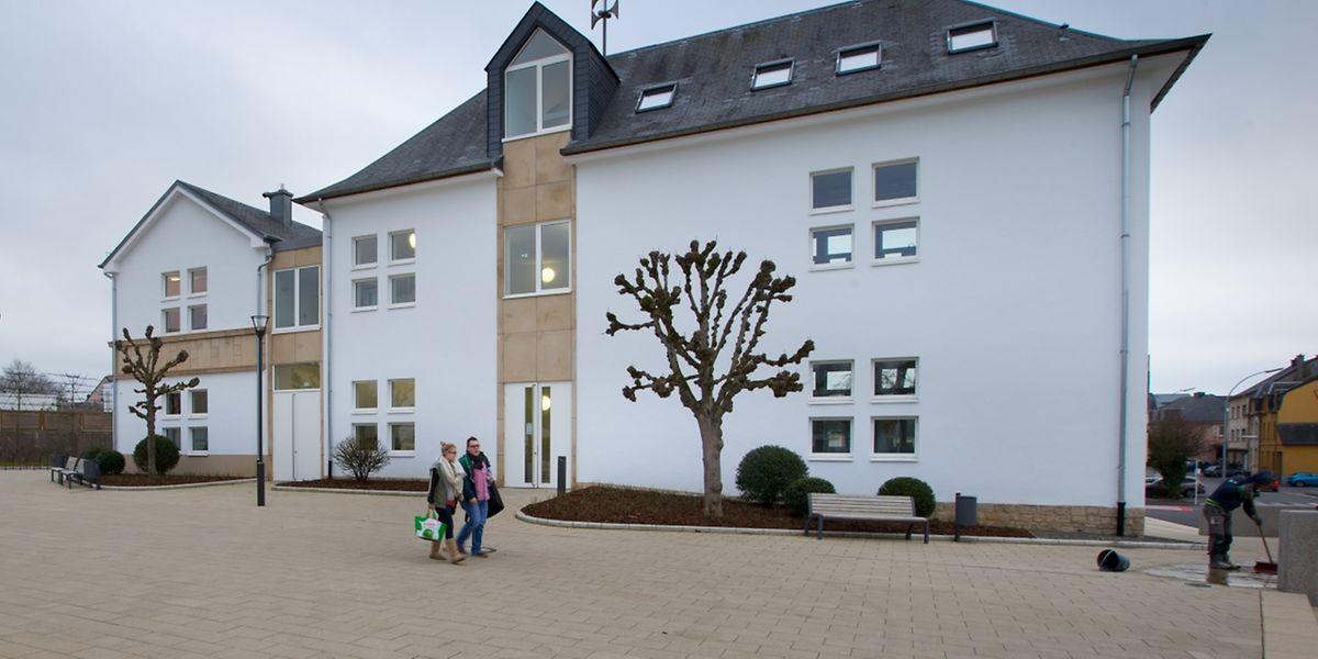 Das neue Gebäude bietet 450 Schülern Platz.