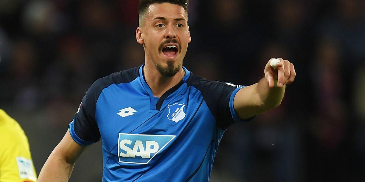 Sandro Wagner n'a pas eu besoin de réfléchir avant de signer au Bayern Munich.