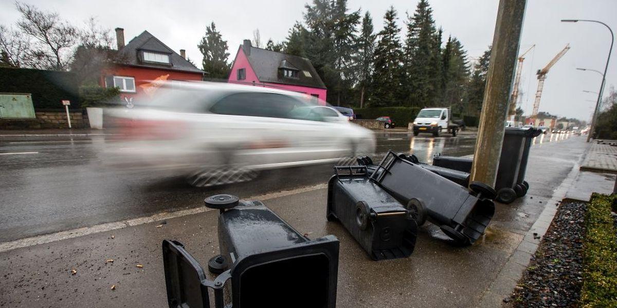 Des rafales jusqu'à 110 km/h sont prévues sur le Luxembourg dans la nuit de jeudi à vendredi accompagnées de neige