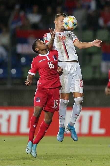 Suspendu jeudi, Leandro Barreiro devrait être de retour au sein de l'entrejeu luxembourgeois.
