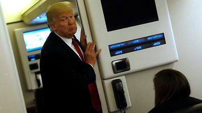 """""""Diese Entscheidung lässt uns schwach aussehen."""" - Donald Trump ist verärgert über das erneute Scheitern seines Einreisestopps vor Gericht."""