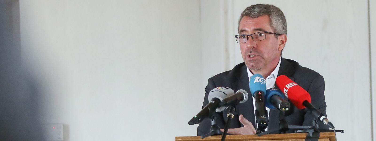 CSV-Präsident Frank Engel entschloss sich am Freitag zum Rückzug. Er sieht die Einheit der Partei in Gefahr.