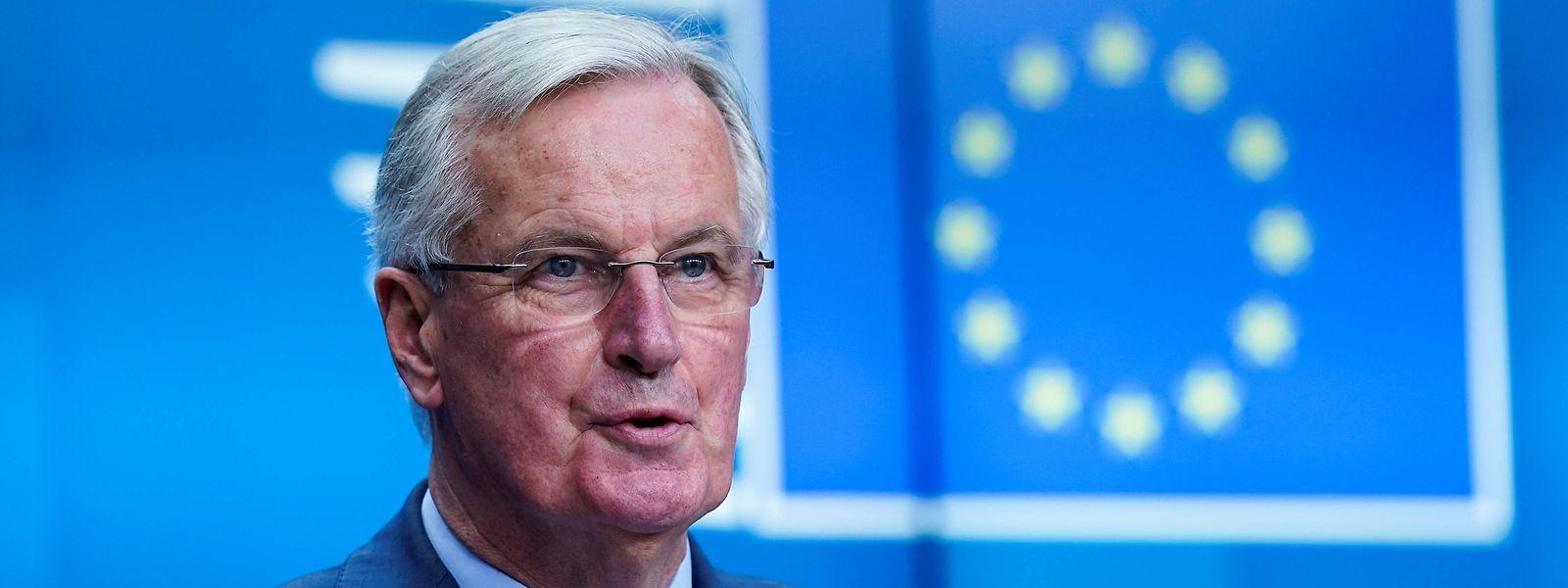 Le négociateur en chef de l'UE Michel Barnier rencontre ce lundi son homologue britannique David Frost.