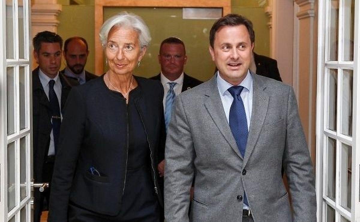 IWF-Direktorin Lagarde bleibt noch bis Freitag in Luxemburg.