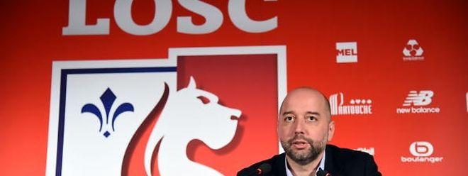 Gerard Lopez veut installer son club aux premières loges pour respirer à nouveau le parfum européen.