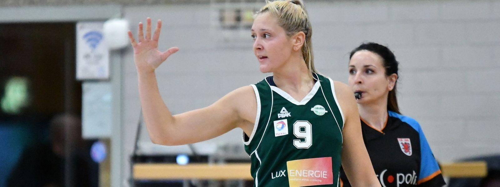Alexandra Louin steht mit Gréngewald im Finale.