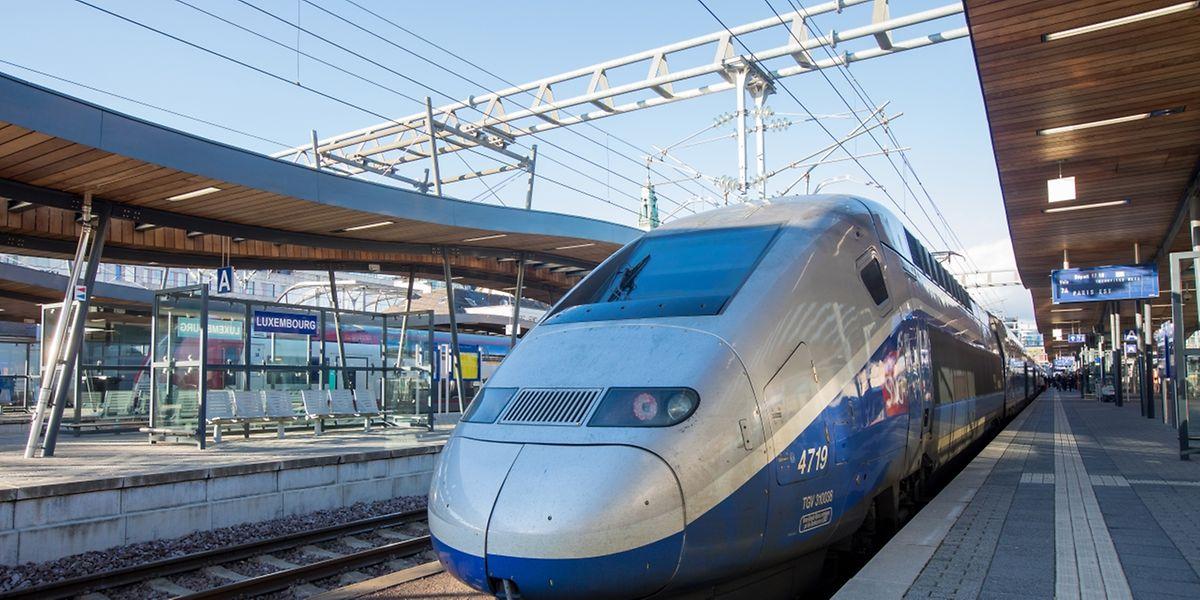 Ab Donnerstagnachmittag läuft der TGV-Verkehr wieder normal.