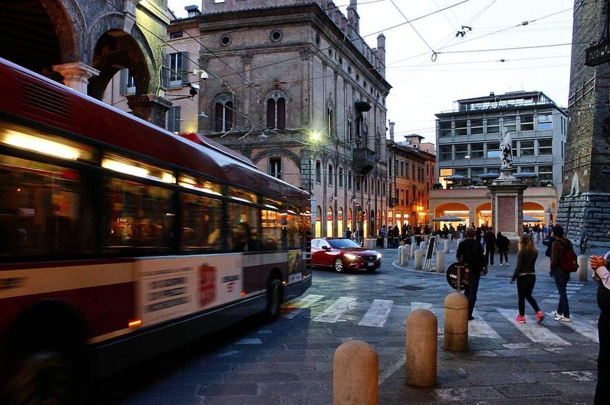 """In Bologna ging das Experiment """"Gratis öffentlicher Transport"""" schief."""