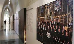 """Kultur, Expo """"Crescendo, 175 ans Maîtrise Sainte-Cécile de la Cathédrale Notre-Dame de Luxembourg"""" archives nationales de luxembourg, plateau saint-esprit, foto: Chris Karaba/Luxemburger Wort"""