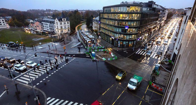 Lokales,Stäreplatz, place d'étoile. Foto: Gerry Huberty/Luxemburger Wort