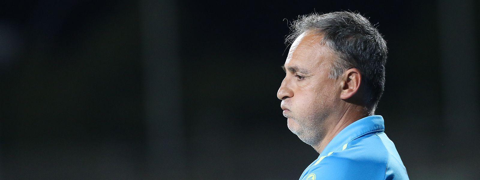 Emilio Ferrera war zur neuen Saison verpflichtet worden.