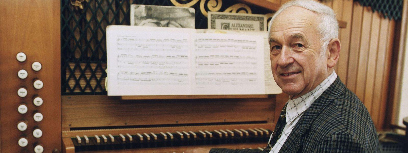 Ein Leben für die Orgel: Pierre Drauth