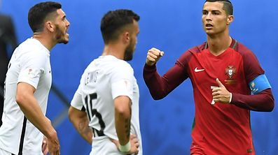 Cristiano Ronaldo a ouvert le score.
